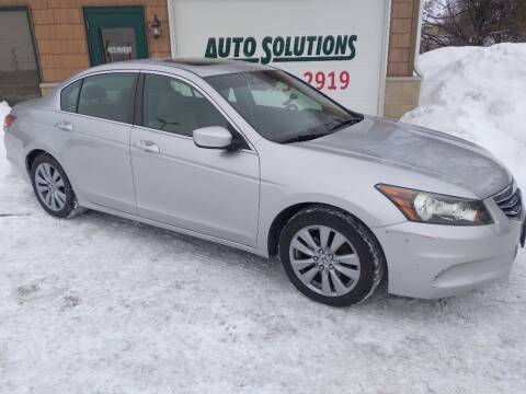 2011 Honda Accord for sale at Auto Solutions of Rockford in Rockford IL