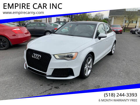 2016 Audi A3 for sale at EMPIRE CAR INC in Troy NY