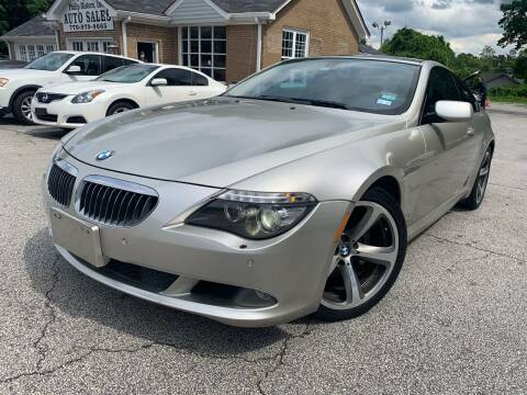 2008 BMW 6 Series for sale at Philip Motors Inc in Snellville GA