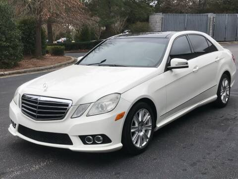 2010 Mercedes-Benz E-Class for sale at Weaver Motorsports Inc in Cary NC