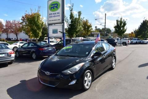 2013 Hyundai Elantra for sale at Rite Ride Inc in Murfreesboro TN