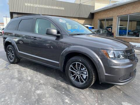 2018 Dodge Journey for sale at C Pizzano Auto Sales in Wyoming PA