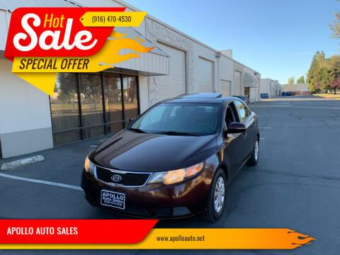 2011 Kia Forte for sale at APOLLO AUTO SALES in Sacramento CA