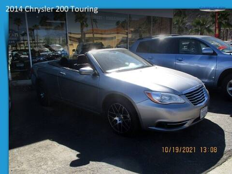 2014 Chrysler 200 Convertible for sale at One Eleven Vintage Cars in Palm Springs CA