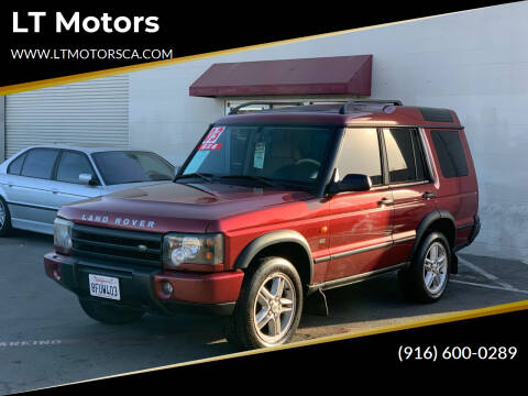 2003 Land Rover Discovery for sale at LT Motors in Rancho Cordova CA