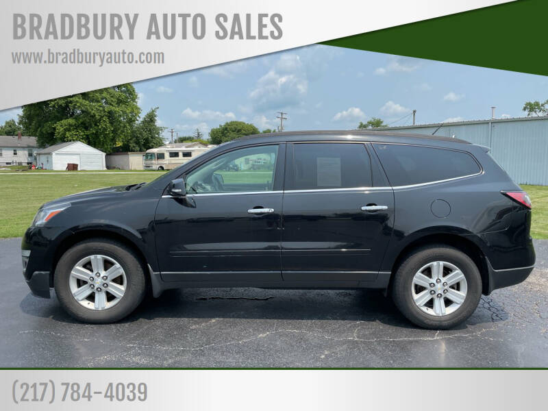 2014 Chevrolet Traverse for sale at BRADBURY AUTO SALES in Gibson City IL