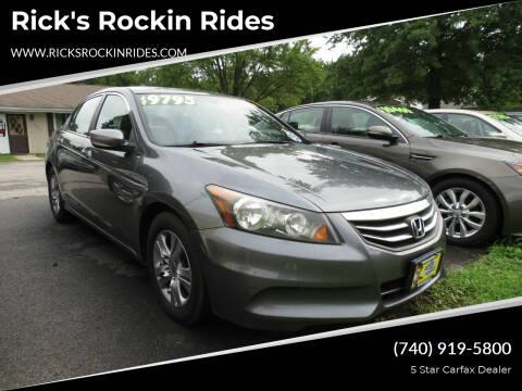 2012 Honda Accord for sale at Rick's Rockin Rides in Reynoldsburg OH