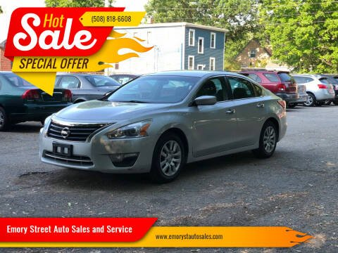 2013 Nissan Altima for sale at Emory Street Auto Sales and Service in Attleboro MA