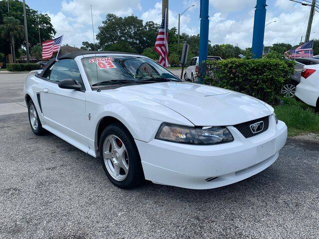 2003 Ford Mustang for sale at AUTO PROVIDER in Fort Lauderdale FL