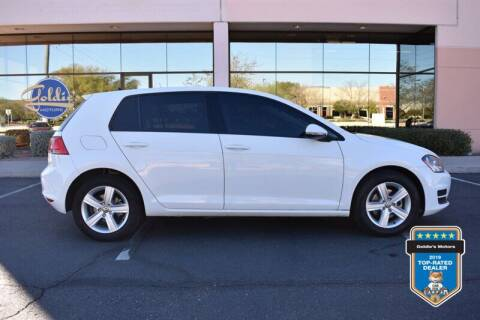 2017 Volkswagen Golf for sale at GOLDIES MOTORS in Phoenix AZ