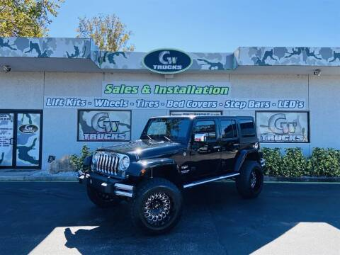 2014 Jeep Wrangler Unlimited for sale at Greenway Auto Sales in Jacksonville FL