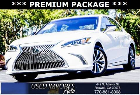 2020 Lexus ES 350 for sale at Used Imports Auto in Roswell GA
