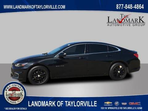 2017 Chevrolet Malibu for sale at LANDMARK OF TAYLORVILLE in Taylorville IL