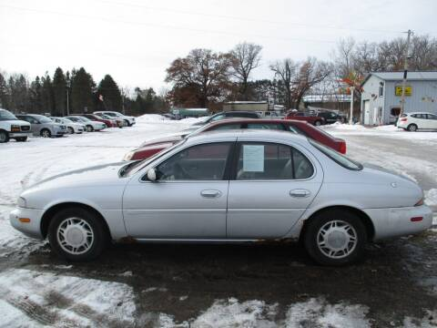 1997 Infiniti J30 for sale at D & T AUTO INC in Columbus MN