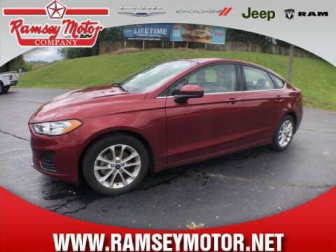 2019 Ford Fusion for sale at RAMSEY MOTOR CO in Harrison AR