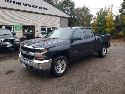 2017 Chevrolet Silverado 1500 for sale at Topham Automotive Inc. in Middleboro MA