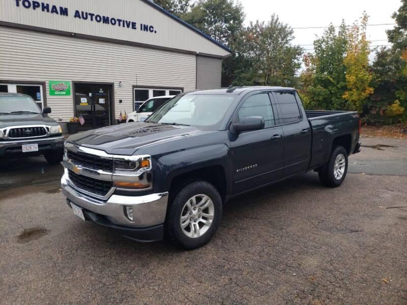 2017 Chevrolet Silverado 1500 for sale at Topham Automotive Inc. in Middleboro MA