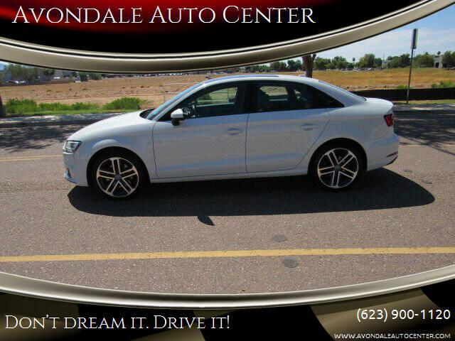 2018 Audi A3 for sale at Avondale Auto Center in Avondale AZ