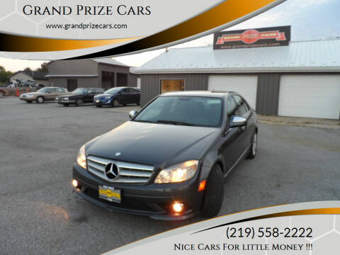 2009 Mercedes-Benz C-Class for sale at Grand Prize Cars in Cedar Lake IN