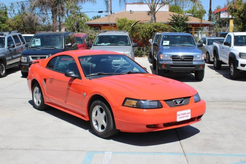 2004 Ford Mustang for sale at Car 1234 inc in El Cajon CA