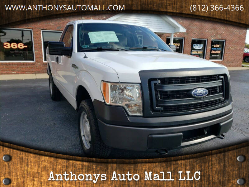 2013 Ford F-150 for sale at Anthonys Auto Mall LLC in New Salisbury IN