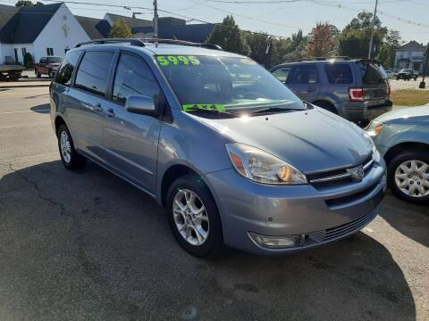 2005 Toyota Sienna for sale at TC Auto Repair and Sales Inc in Abington MA