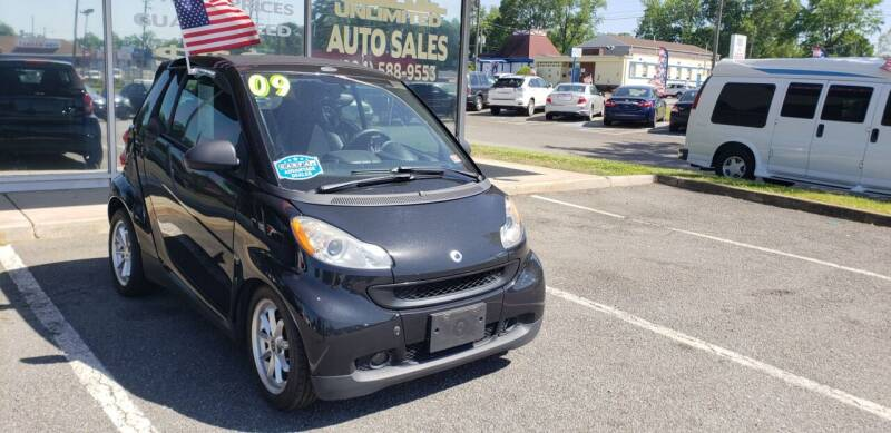 2009 Smart fortwo for sale at Carz Unlimited in Richmond VA