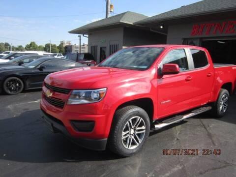 2020 Chevrolet Colorado for sale at Bitner Motors in Pittsburg KS
