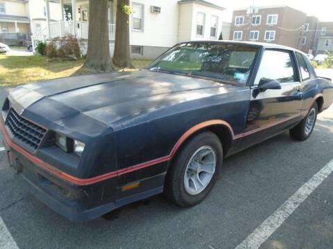 1986 Chevrolet Monte Carlo for sale at Greg's Auto Sales in Dunellen NJ