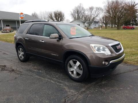 2008 GMC Acadia for sale at CALDERONE CAR & TRUCK in Whiteland IN
