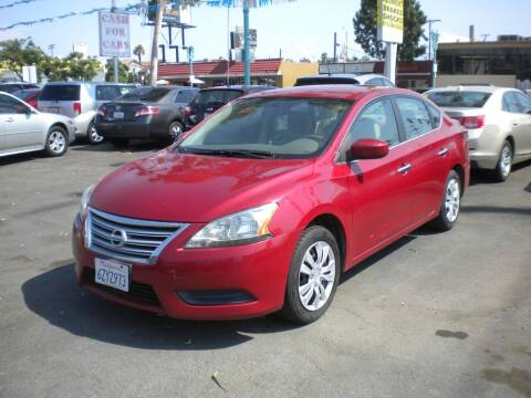 2013 Nissan Sentra for sale at AUTO SELLERS INC in San Diego CA
