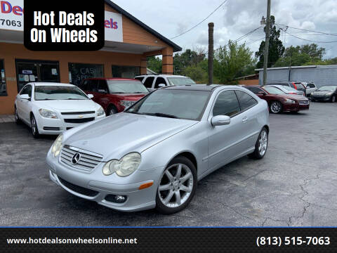 2005 Mercedes-Benz C-Class for sale at Hot Deals On Wheels in Tampa FL