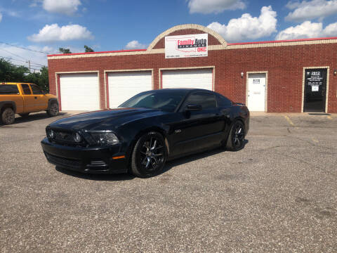 2013 Ford Mustang for sale at Family Auto Finance OKC LLC in Oklahoma City OK