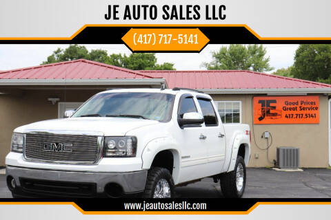 2008 GMC Sierra 1500 for sale at JE AUTO SALES LLC in Webb City MO