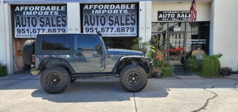 2008 Jeep Wrangler for sale at Affordable Imports Auto Sales in Murrieta CA