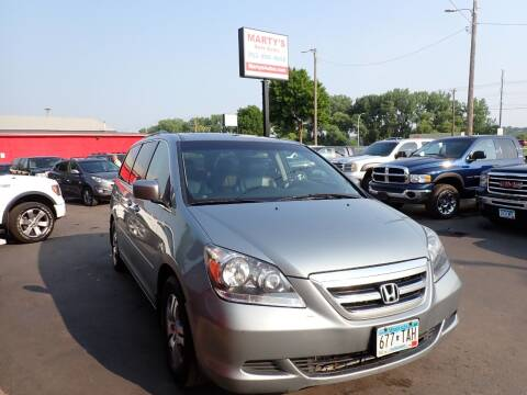 2007 Honda Odyssey for sale at Marty's Auto Sales in Savage MN