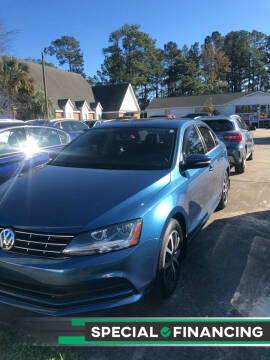 2018 Volkswagen Jetta for sale at Gralin Hampton Auto Sales in Summerville SC