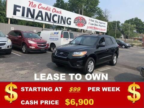 2010 Hyundai Santa Fe for sale at Auto Mart USA in Kansas City MO