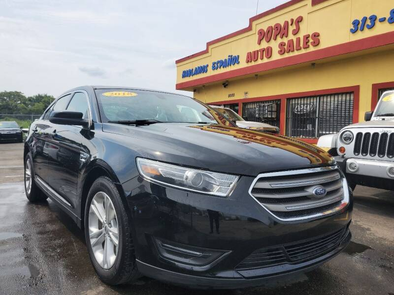2018 Ford Taurus for sale at Popas Auto Sales in Detroit MI