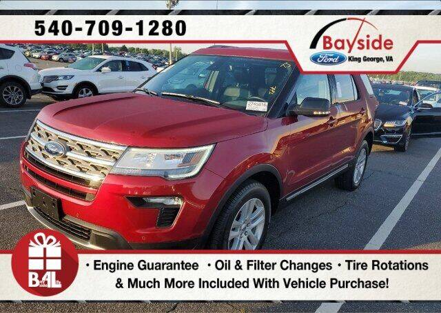 2018 Ford Explorer for sale in King George, VA