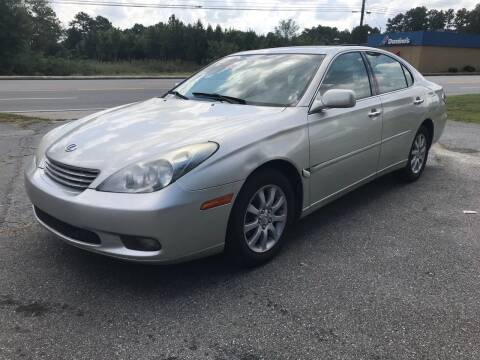 2003 Lexus ES 300 for sale at CAR STOP INC in Duluth GA