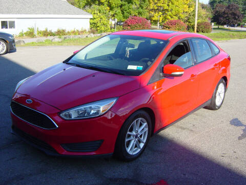 2016 Ford Focus for sale at North South Motorcars in Seabrook NH