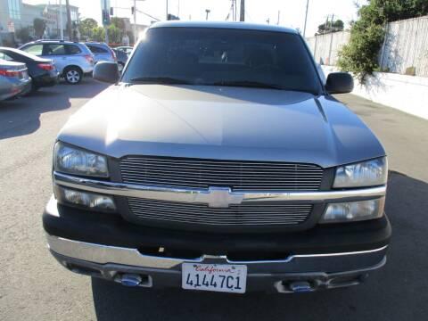 2003 Chevrolet Silverado 1500 for sale at Car House in San Mateo CA