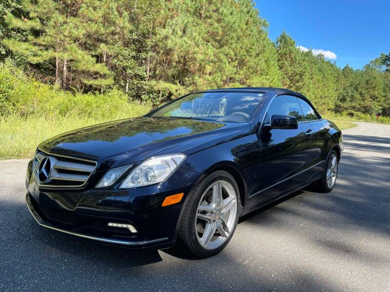 2011 Mercedes-Benz E-Class for sale at Carrera AutoHaus Inc in Clayton NC