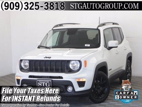 2020 Jeep Renegade for sale at STG Auto Group in Montclair CA