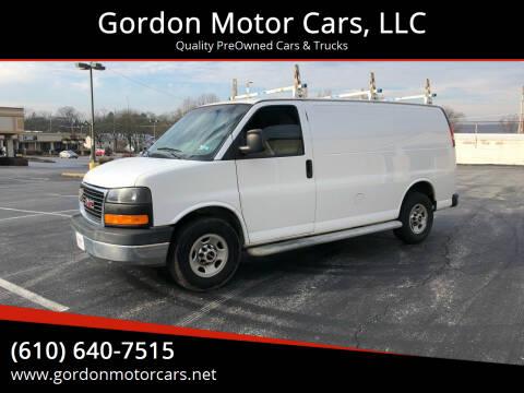 2014 GMC Savana Cargo for sale at Gordon Motor Cars, LLC in Frazer PA