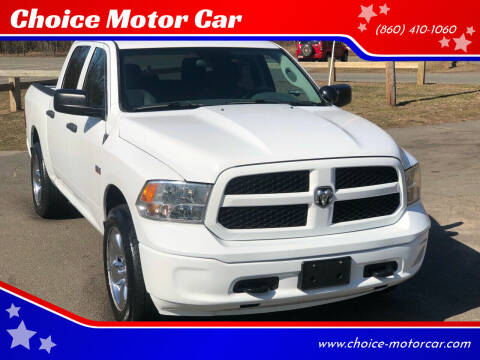 2014 RAM Ram Pickup 1500 for sale at Choice Motor Car in Plainville CT