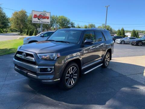2014 Toyota 4Runner for sale at D-Cars LLC in Zeeland MI