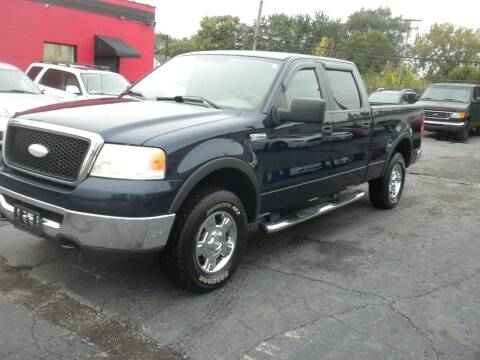 2006 Ford F-150 for sale at MASTERS AUTO SALES in Roseville MI