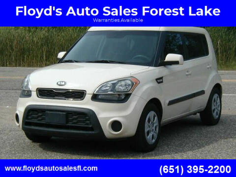 2013 Kia Soul for sale at Floyd's Auto Sales Forest Lake in Forest Lake MN